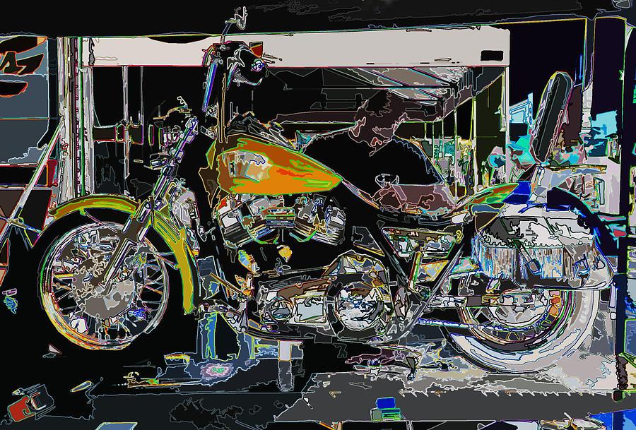 The Motorcycle Mechanic Photograph By Samuel Sheats