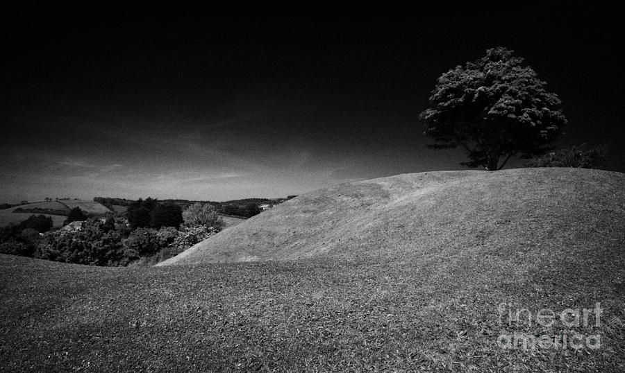Mound Photograph - The Mound Of Down Downpatrick County Down Northern Ireland by Joe Fox