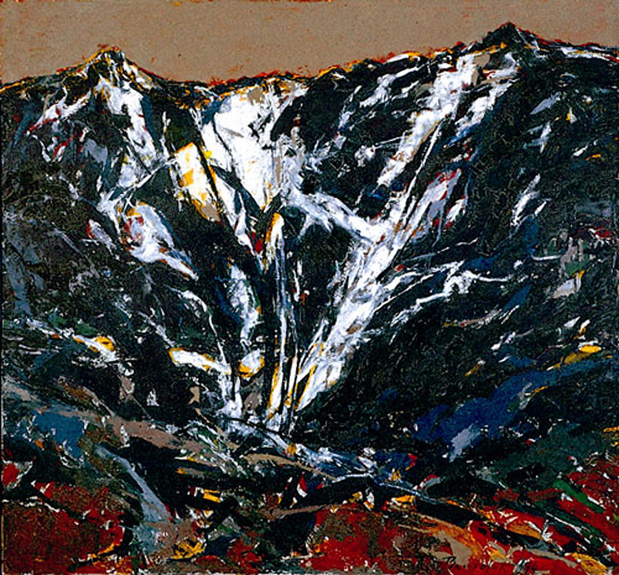 Landscape Painting - The Mount DURMITOR by Vladimir Vlahovic