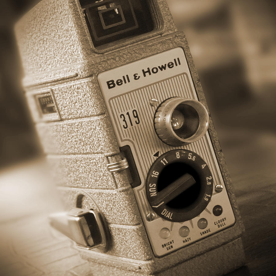 Bell & Howell Photograph - The Movie Camera by Mike McGlothlen