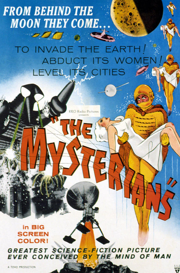1950s Movies Photograph - The Mysterians, 1959 by Everett