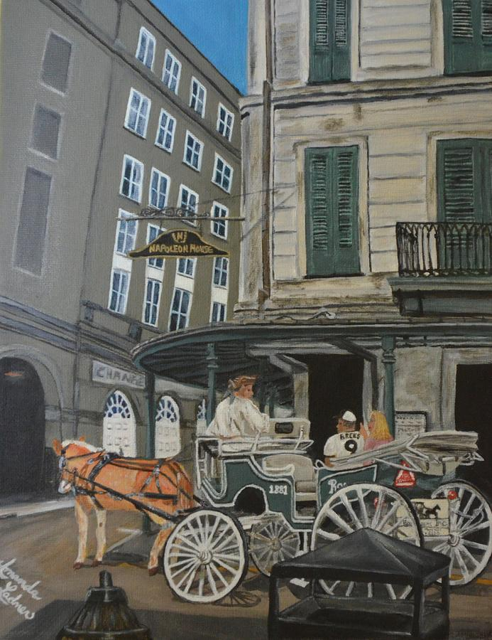 New Orleans Painting - The Napolean House by Amanda Ladner