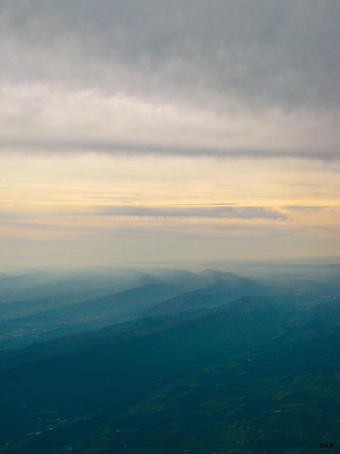 Sky Photograph - The Natural Movement  by Debra     Vatalaro