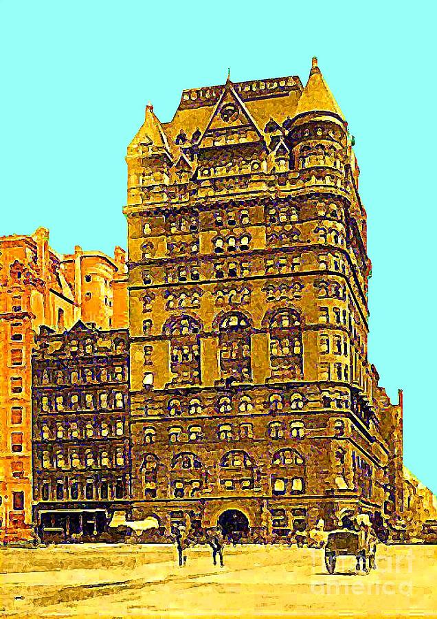 Hotels Painting - The Netherland Hotel In New York City In 1910 by Dwight Goss