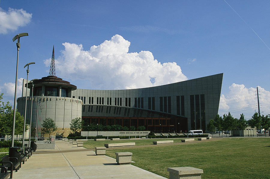 North America Photograph - The New Country Music Hall Of Fame by Stephen Alvarez