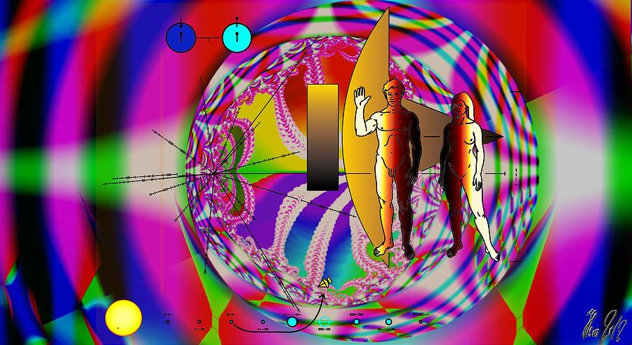 View Digital Art - The New View Of Science by Helmut Rottler