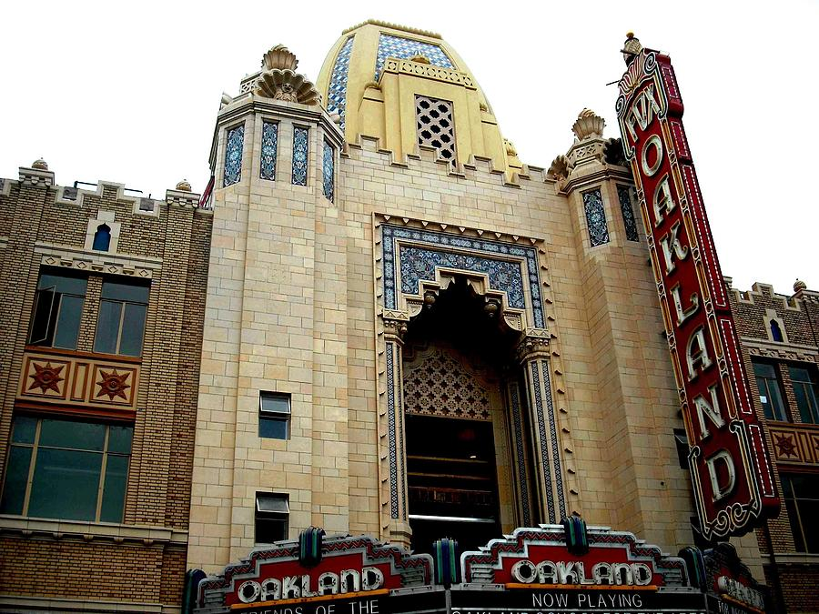 The Oakland Fox Theater  by Kelly Manning