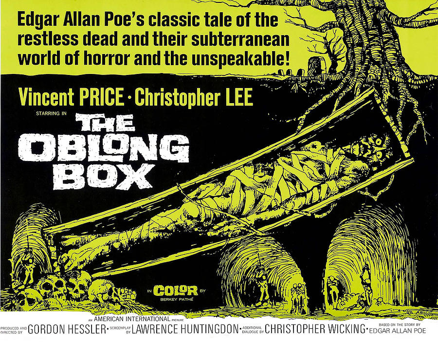 The Oblong Box, 1969 Photograph by Everett
