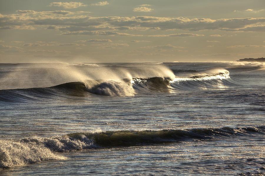 Ocean Photograph - The Ocean Winds by Steve Gravano