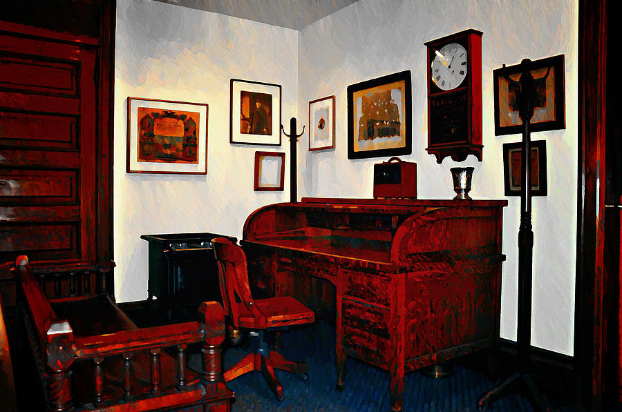 The Office Photograph - The Office by Bill Cannon