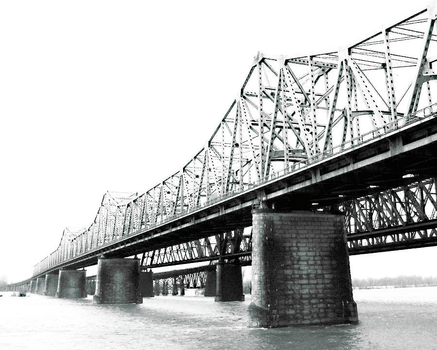 The Old Bridges At Memphis Photograph