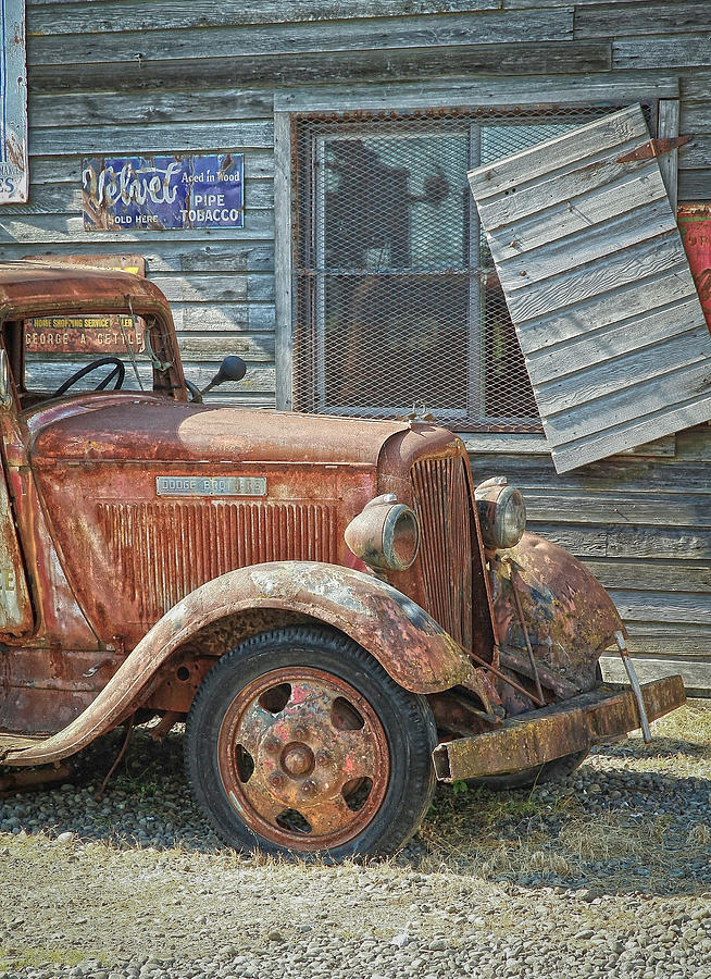 Dodge Photograph - The Old Dodge by Steve McKinzie