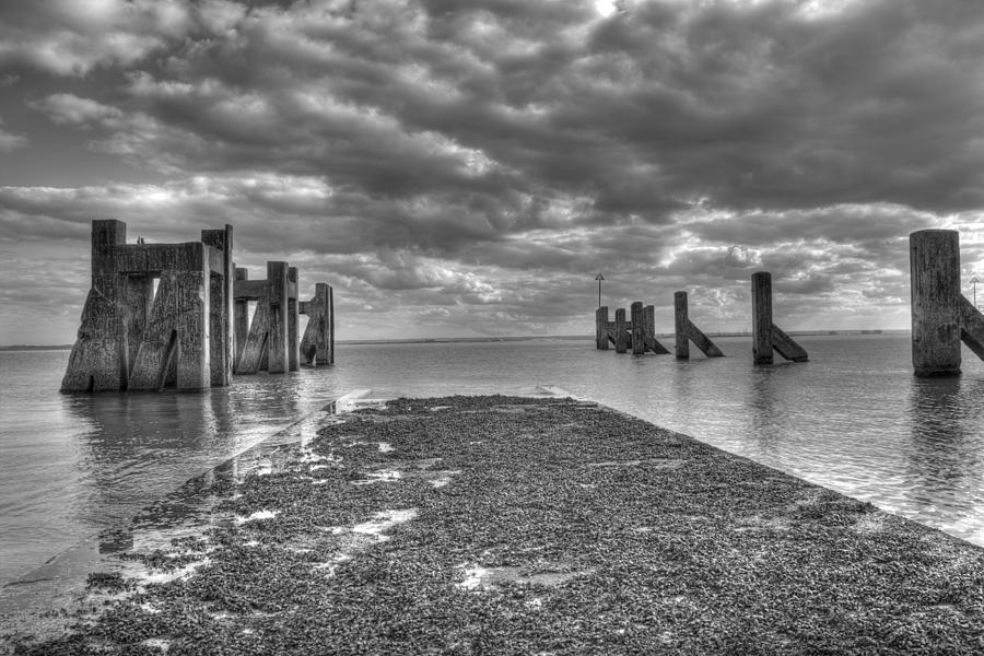 Seaside Photograph - The Old Harbour by Kevin Bates