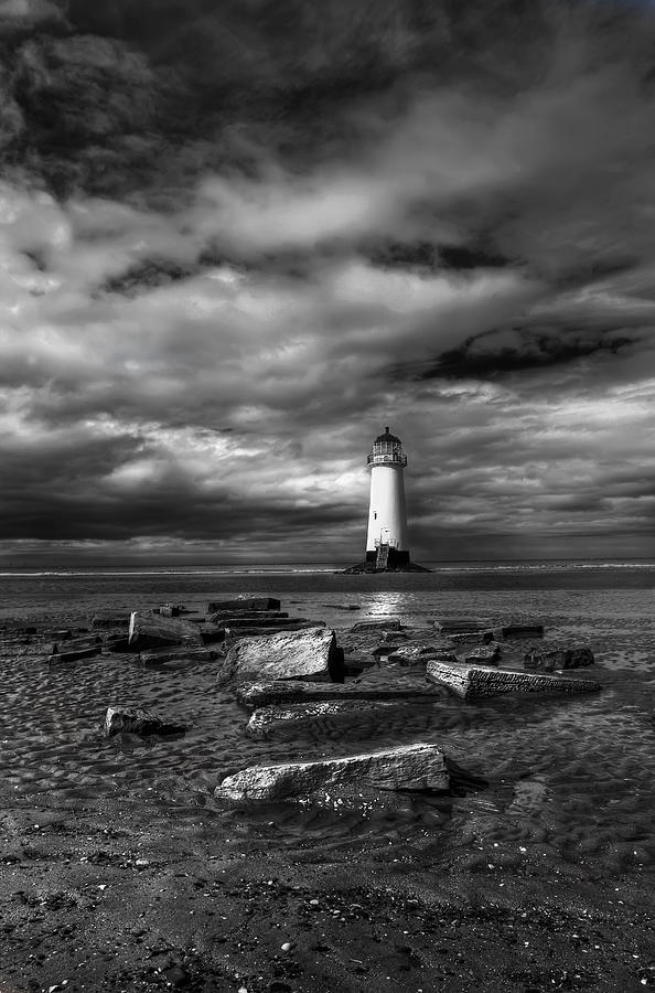 Beach Photograph - The Old Lighthouse  by Adrian Evans