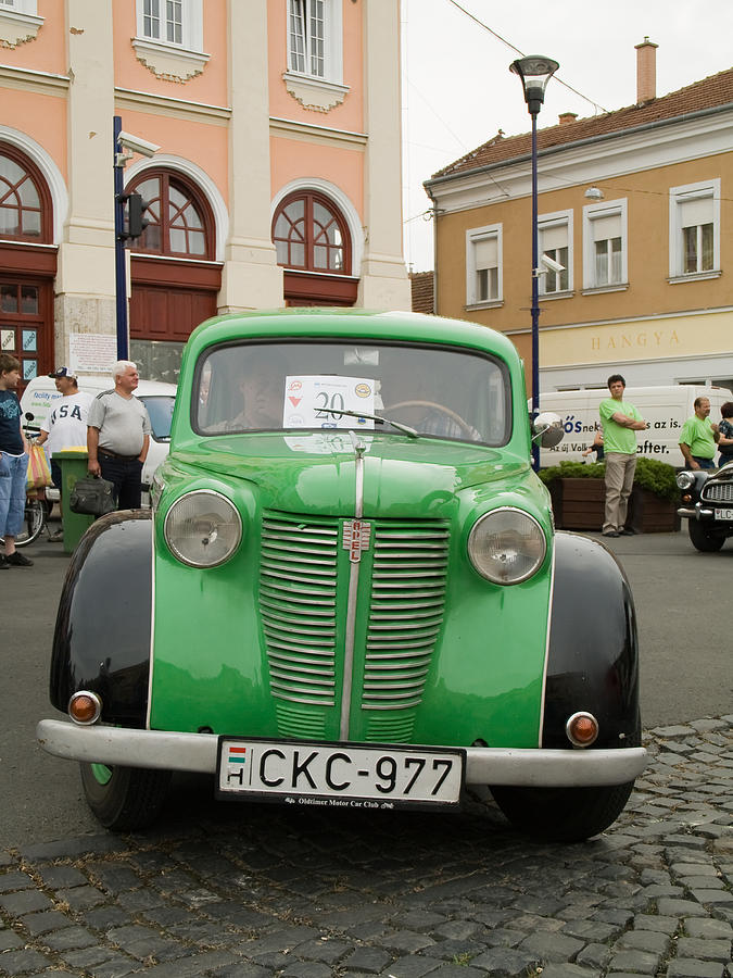 Old Photograph - The Old Opel by Odon Czintos