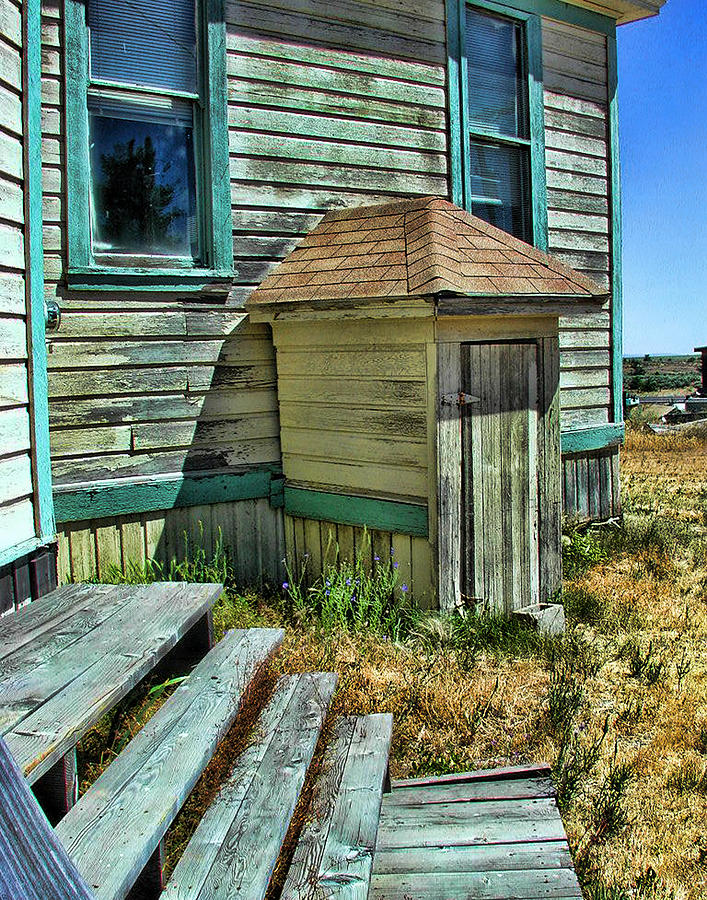 Old Schoolhouse Photograph - The Old Schoolhouse by Bonnie Bruno