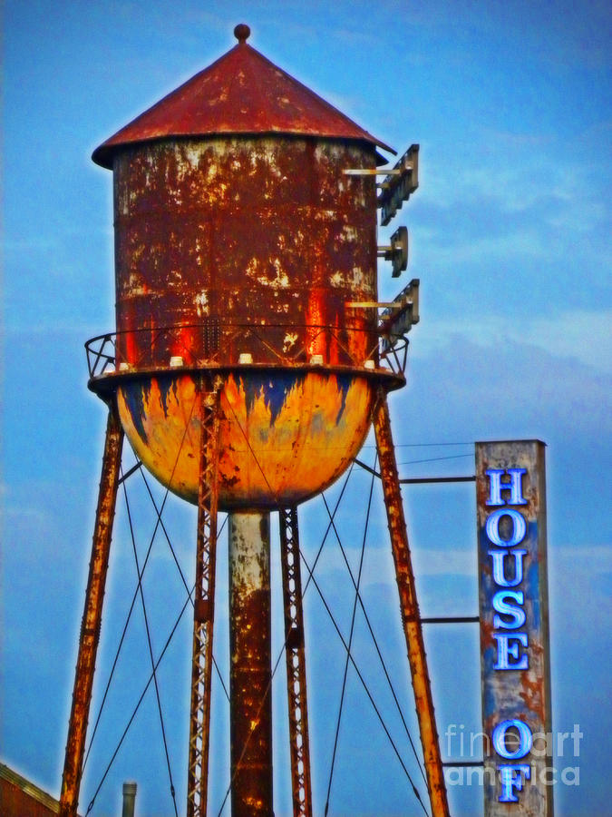 The Old Water Tower Photograph by Becky Wanamaker