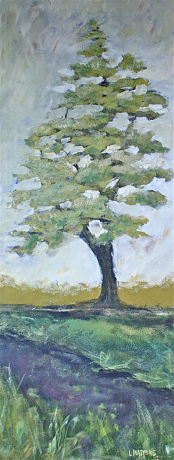 White Pine Painting - The One by Lisa Masters