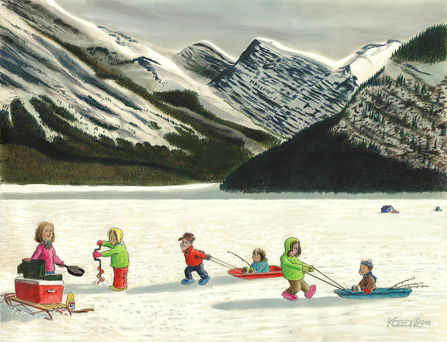 Hunting Pastel - The Optimists by Tim Koziol
