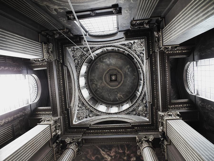 Architecture Photograph - The Painted Hall by Anna Villarreal Garbis