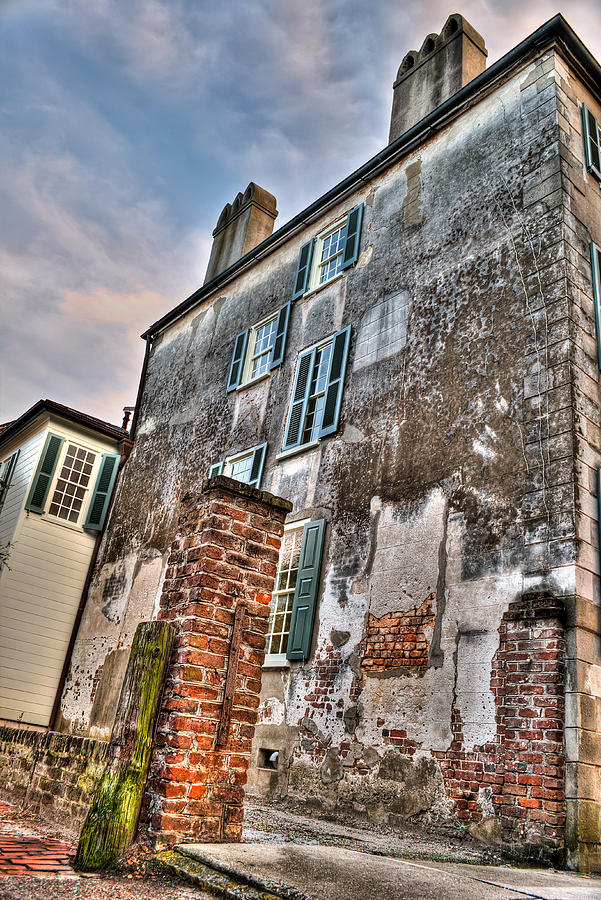 Charleston Photograph - The Past Revealed by Andrew Crispi