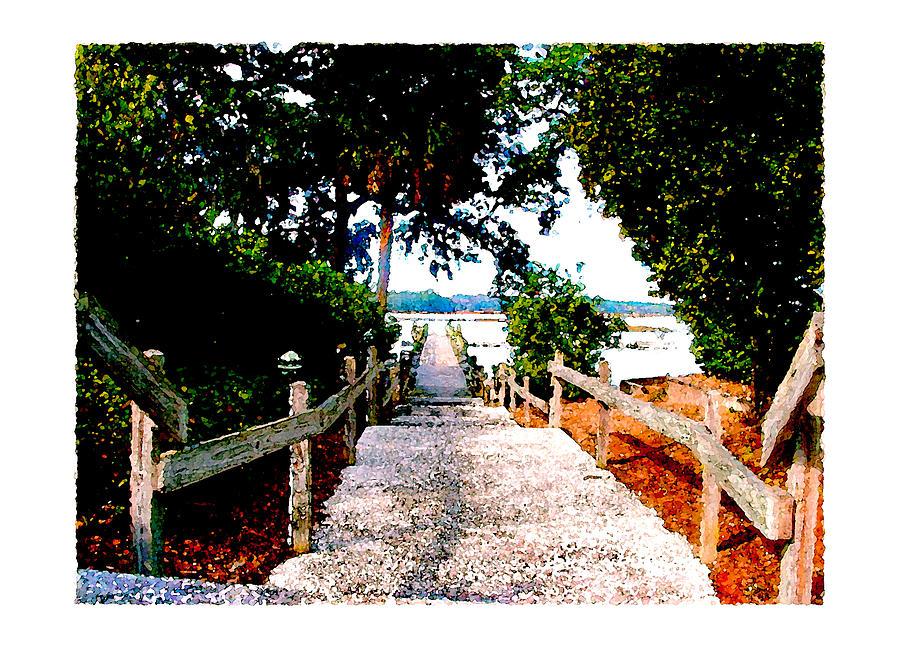 Beach Digital Art - The Path by Brenda Leedy