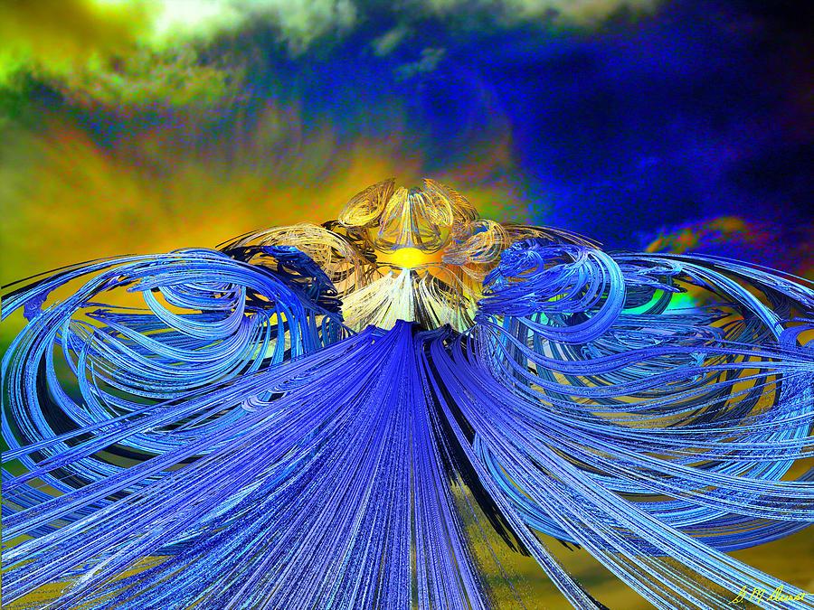Digital Digital Art - The Path by Michael Durst