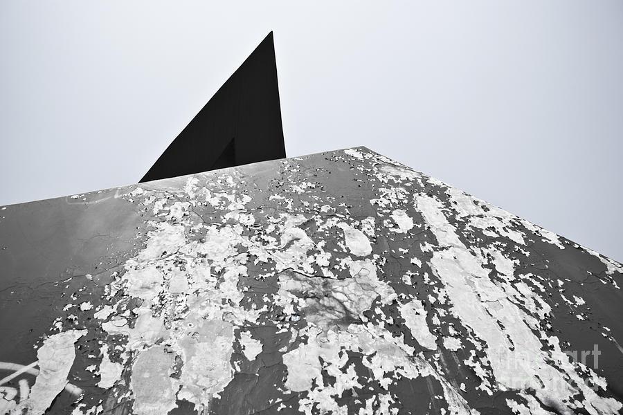 Abstract Photograph - The Peeling Pyramids by L E Jimenez