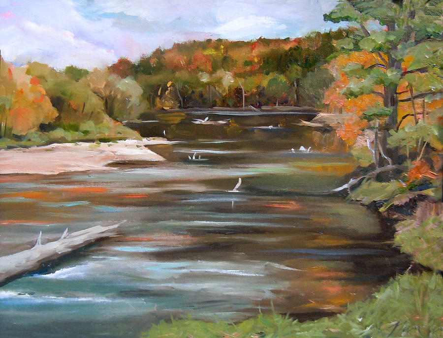 The Pemi in Autumn Two by Nancy Griswold