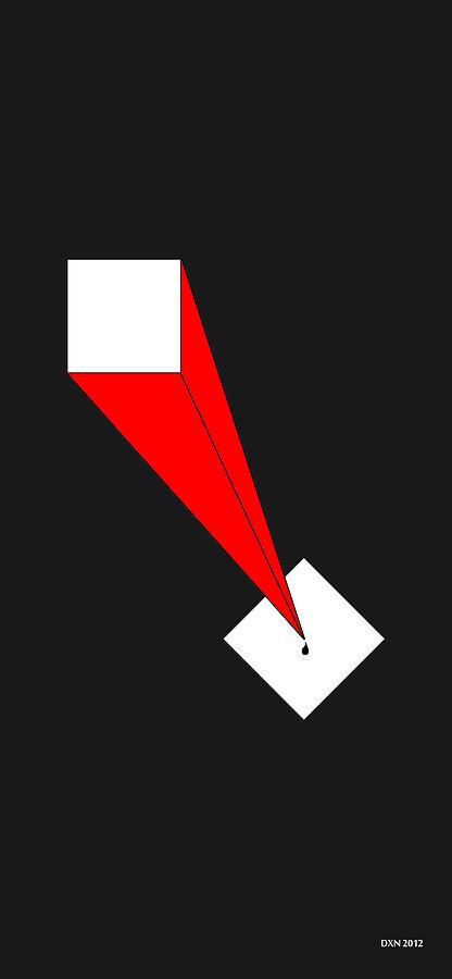 Digital Digital Art - The Pen Is Mightier Than The Sword by Allen Wilson