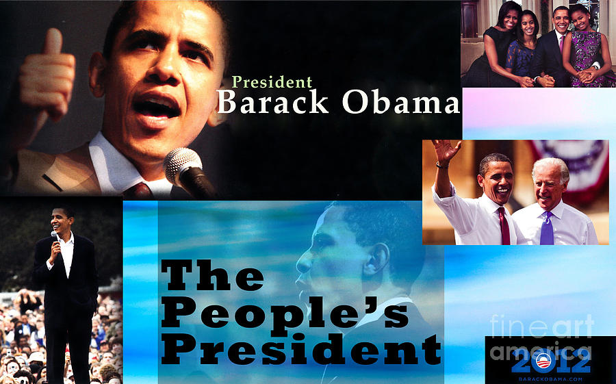 President Photograph - The Peoples President by Terry Wallace