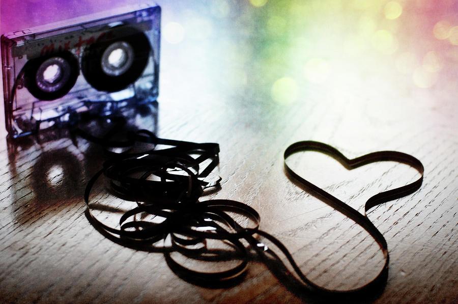 Horizontal Photograph - The Perfect Mix Tape by Created by Tafari K. Stevenson-Howard