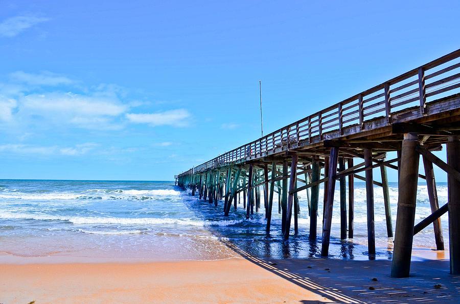 Pier Photograph - The Pier by Brenda Becker