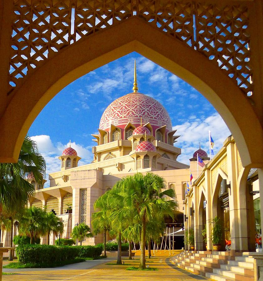 The Pink Mosque Photograph by Mark Alain V. Villocero