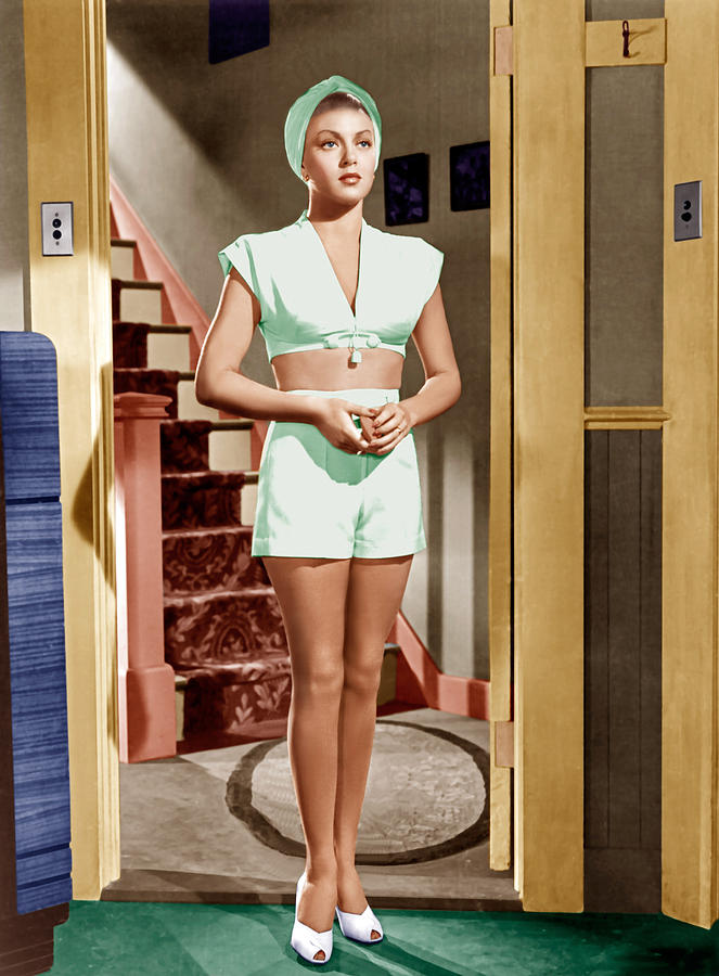 1940s Movies Photograph - The Postman Always Rings Twice, Lana by Everett