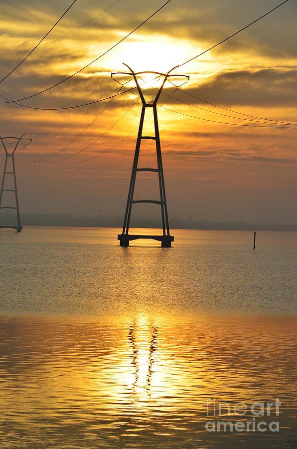 Sunrise Photograph - The Power Of Dawn by Lynda Dawson-Youngclaus