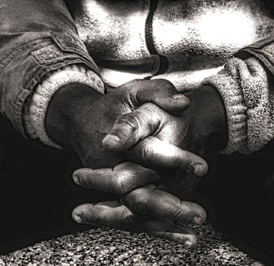 Praying Photograph - The Prayer by Kenneth Mucke