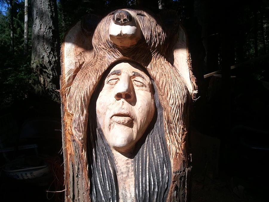 Spiritual Sculpture - The Prayer by William Luke