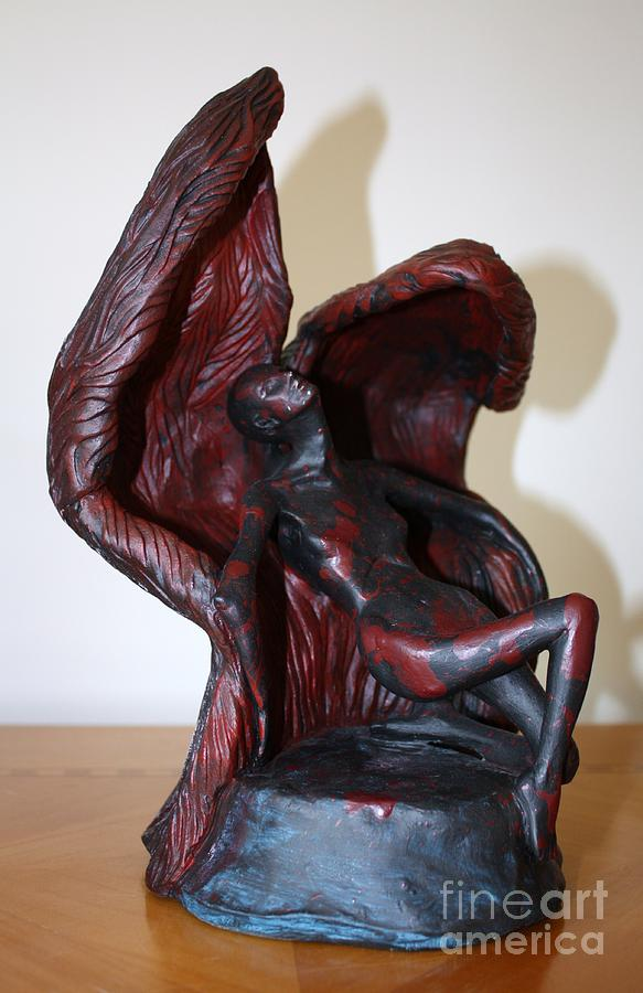 The Price Of Wings Sculpture by Sandi Dawn McWilliams