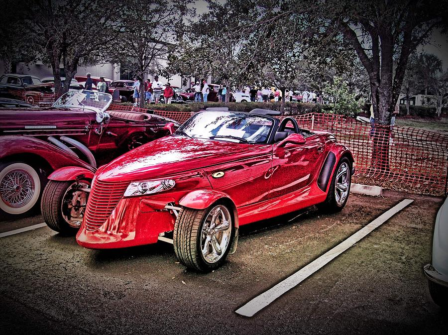 Hot Rod Photograph - The Prowler by Don Fleming
