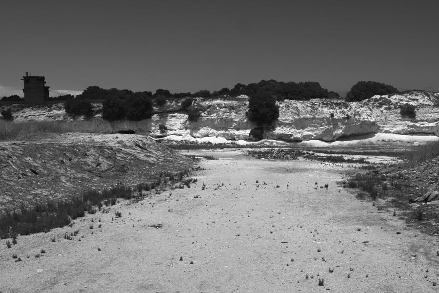 Robben Island Photograph - The Quarry by Aidan Moran
