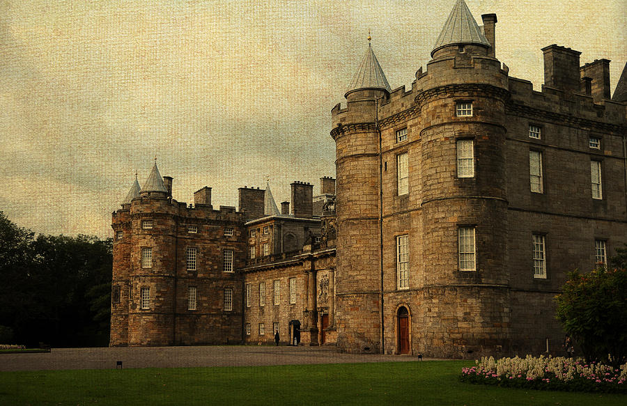 Scotland Photograph - The Queens Gallery. Edinburgh. Scotland by Jenny Rainbow