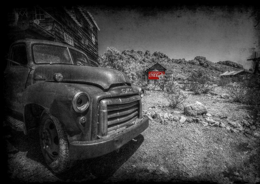 Truck Photograph - The Real Thing by Christine Annas