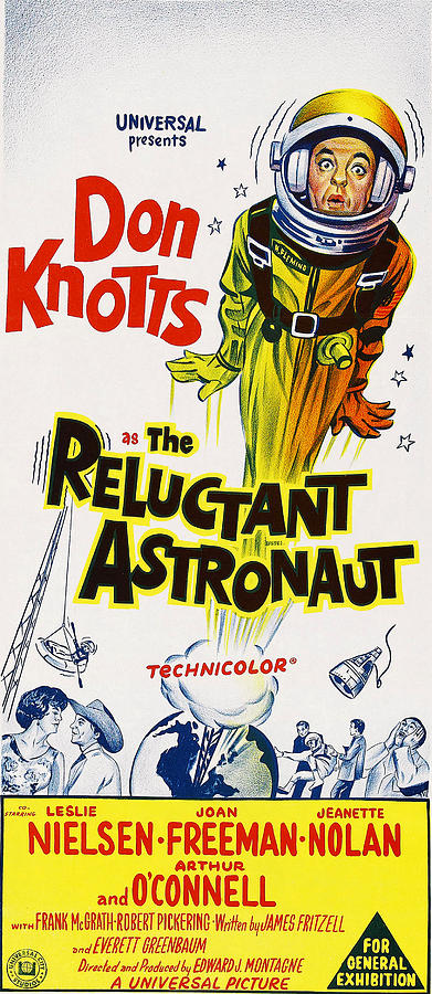 1967 Movies Photograph - The Reluctant Astronaut, Upper Right by Everett