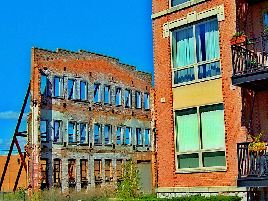 Michigan Photograph - The Replacement by MJ Olsen