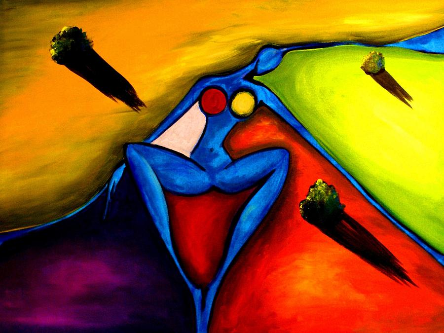 Play Painting - The River Woman by ArtGuru Official