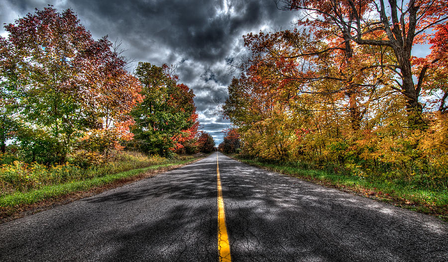 Lanscape Photograph - The Road Less Travelled by Jeff Smith