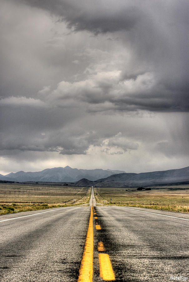 Road Photograph - The Road by Stellina Giannitsi
