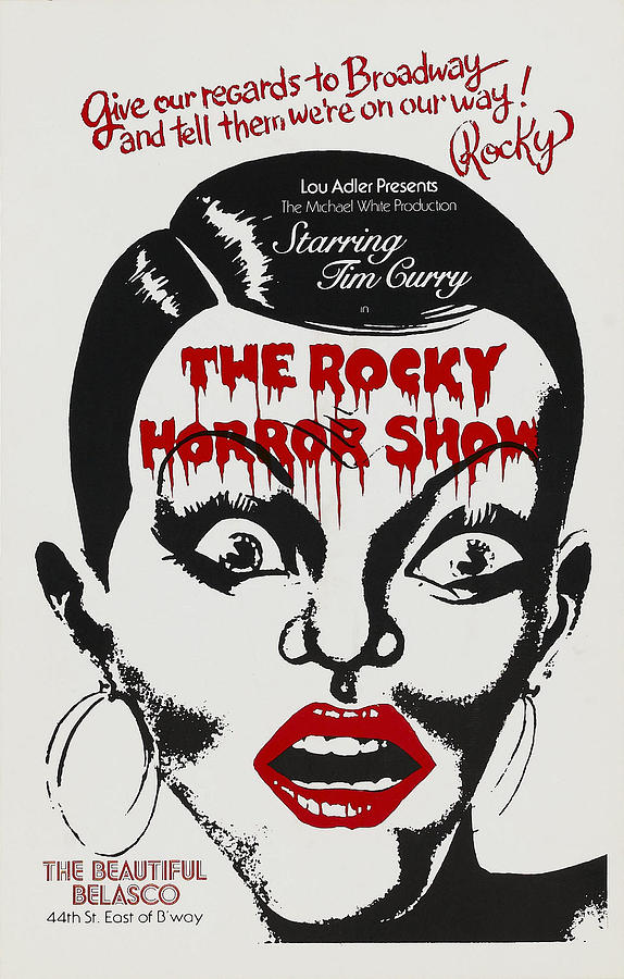 The rocky horror show poster art photograph by everett hoop earrings photograph the rocky horror show poster art by everett bookmarktalkfo Gallery