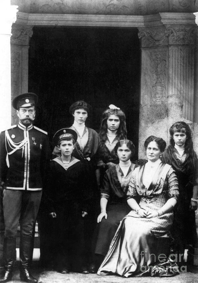 Empress Photograph - The Romanovs by Science Source